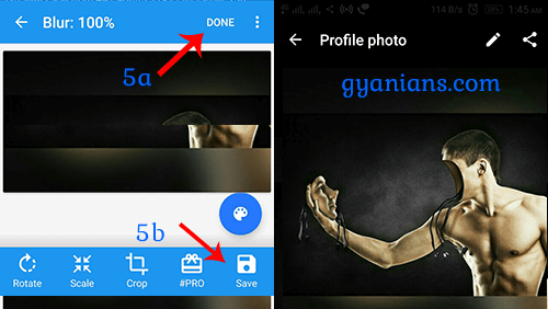 Set Full Size Profile Picture on Whatsapp Without Crop