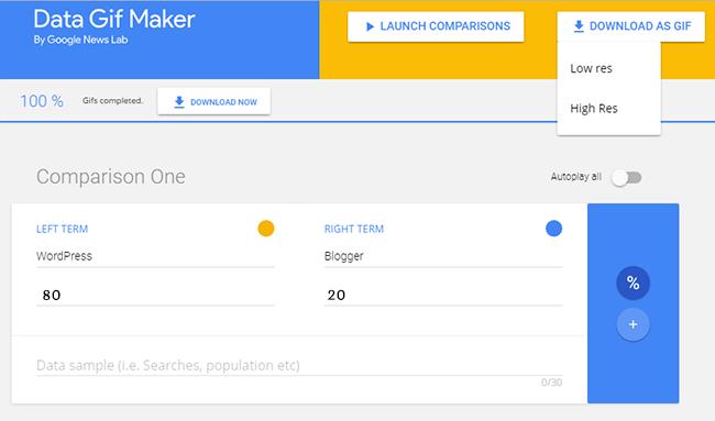 Google Data GIF Maker Tool Kaise Use Karte Hai - Gyanians