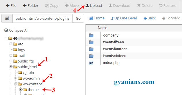upload-theme-using-cpanel