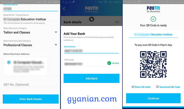 Paytm business app installation