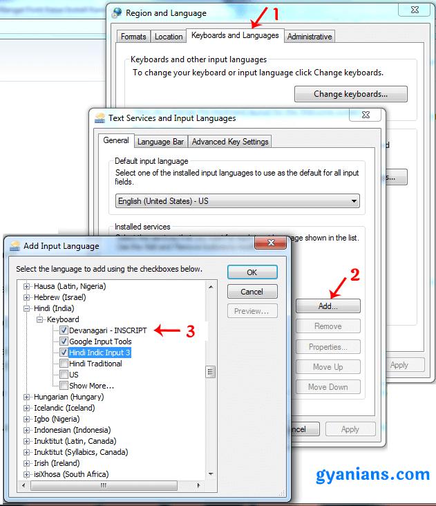add-devanagri-keyboard-in-windows